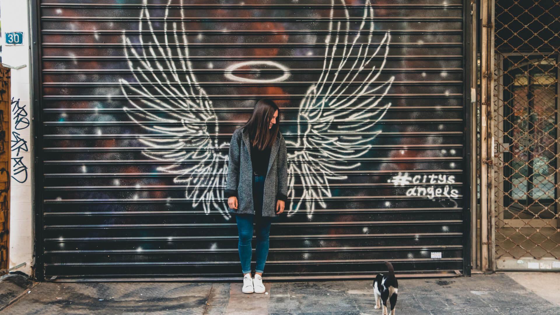 Athens Phototour Graffiti Portrait